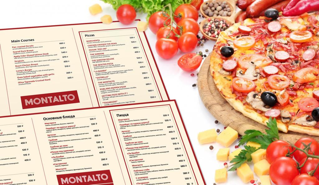 menu Montalto