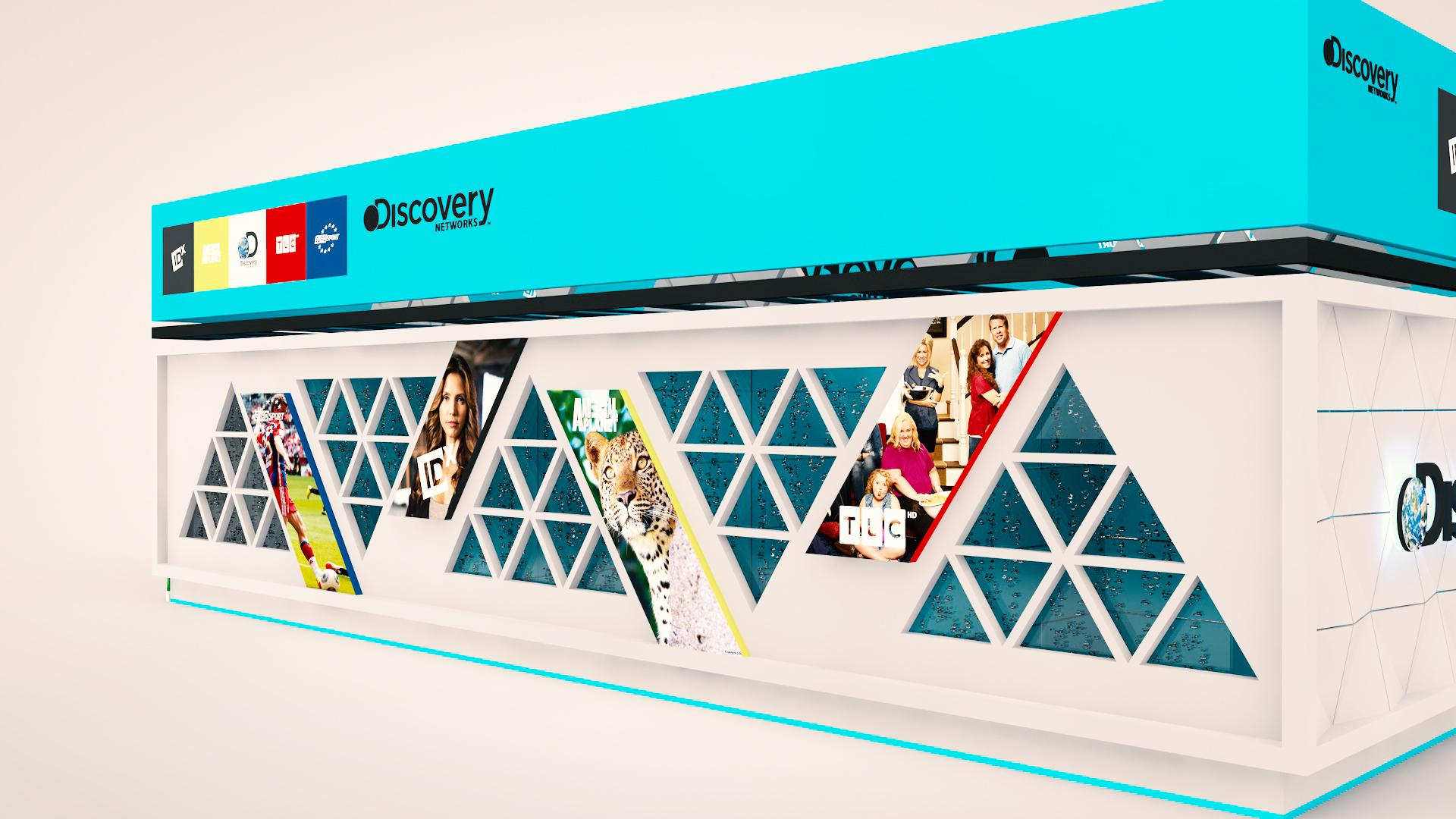 Выставочный стенд Discovery Russia