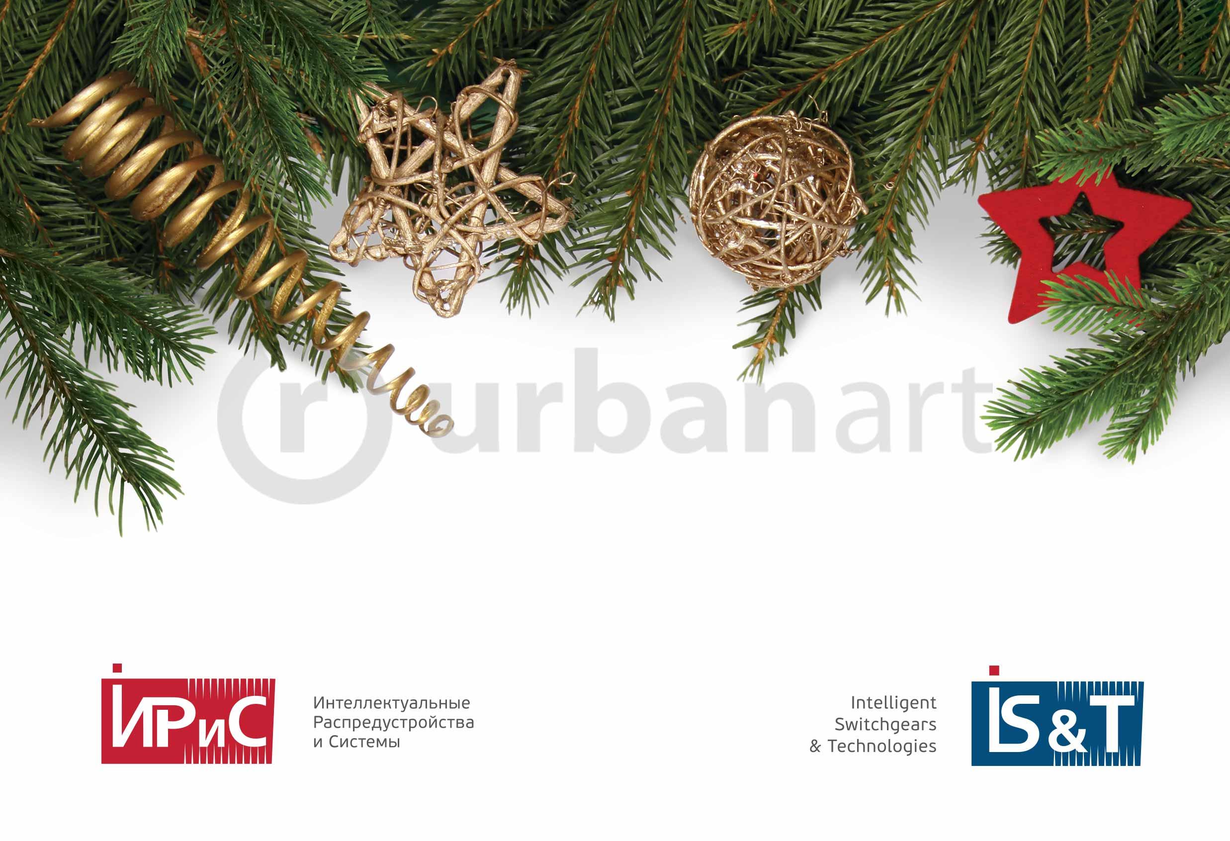 """Разработка дизайна новогодних подарков компании """"Ирис"""""""