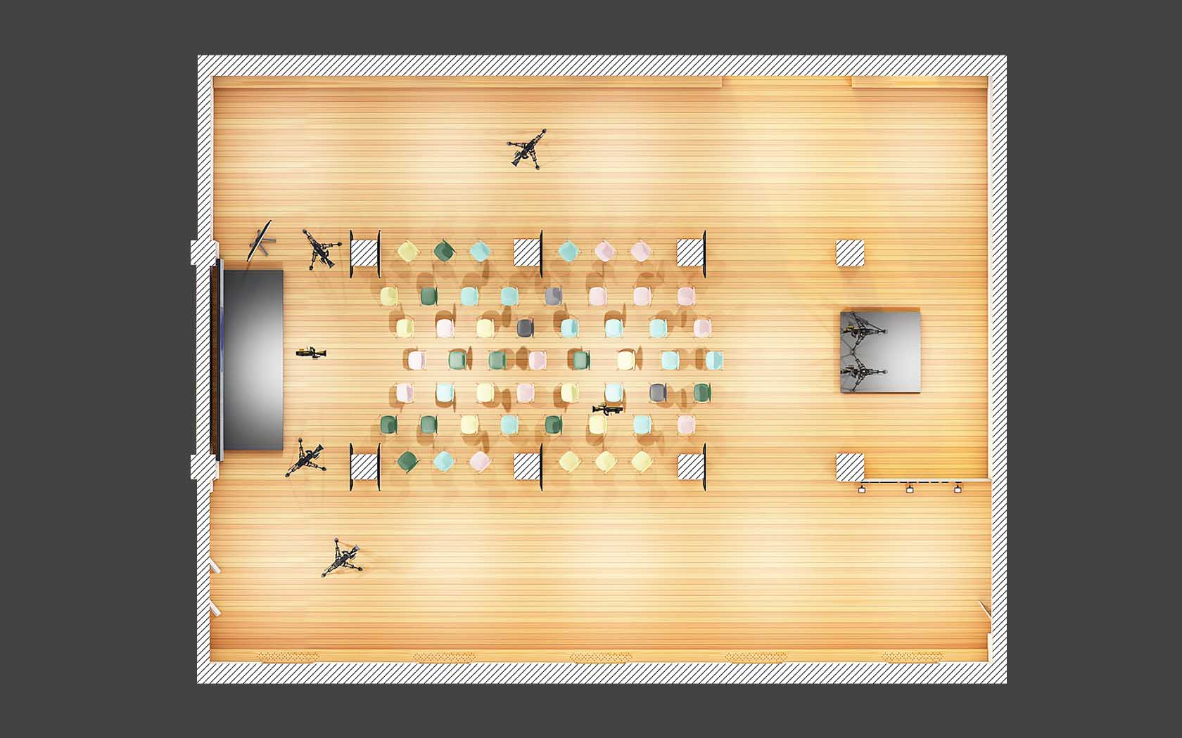 """Подготовка 3D пространства под презентацию YotaPhone2, ООО """"Арт Урбан"""""""