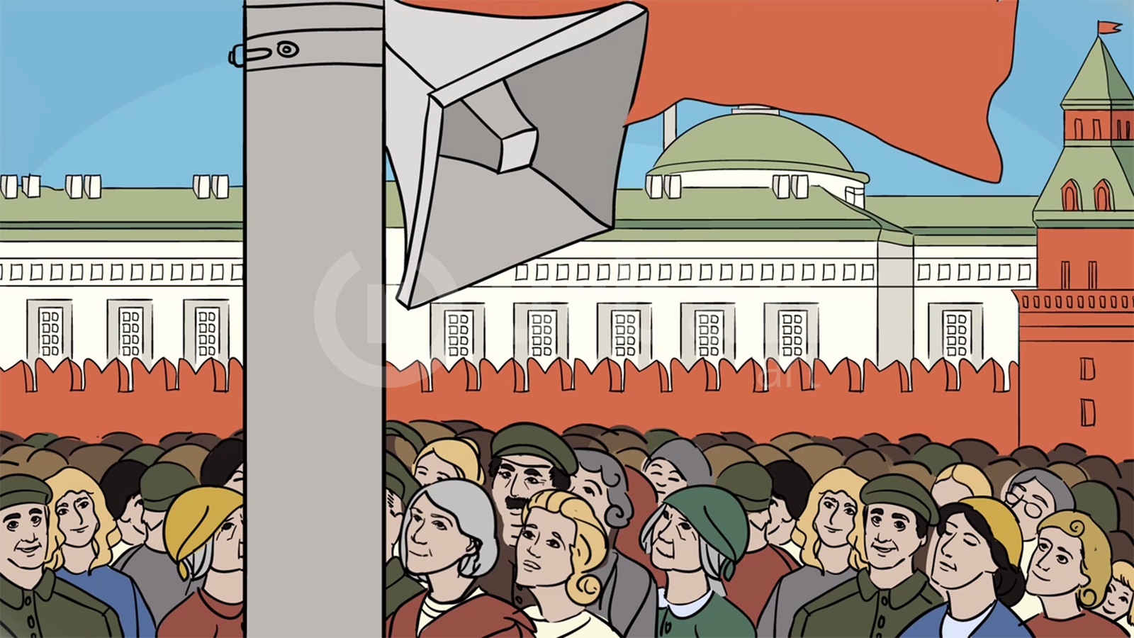 Разработка ролика для компании РСВО (Российские сети вещания и оповещения) к 70-ти летию победы!