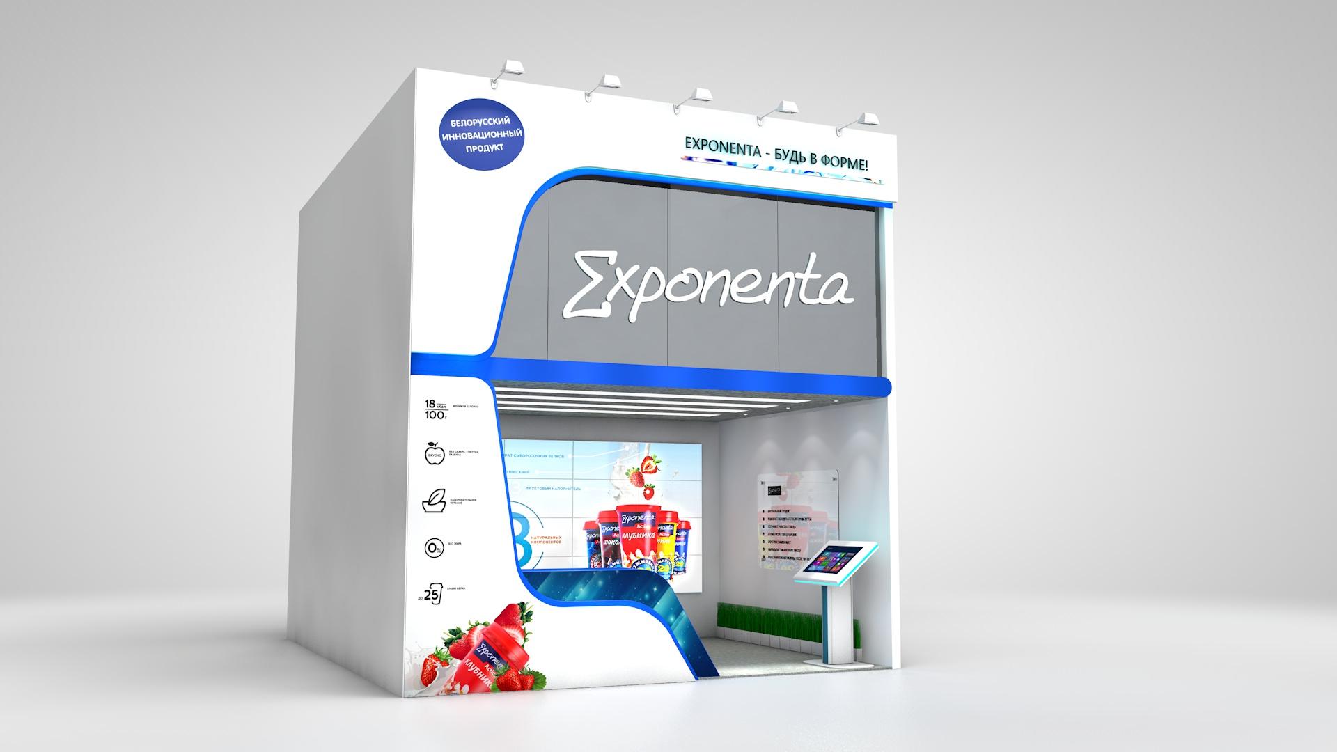 строительство выставочного стенда Exponenta