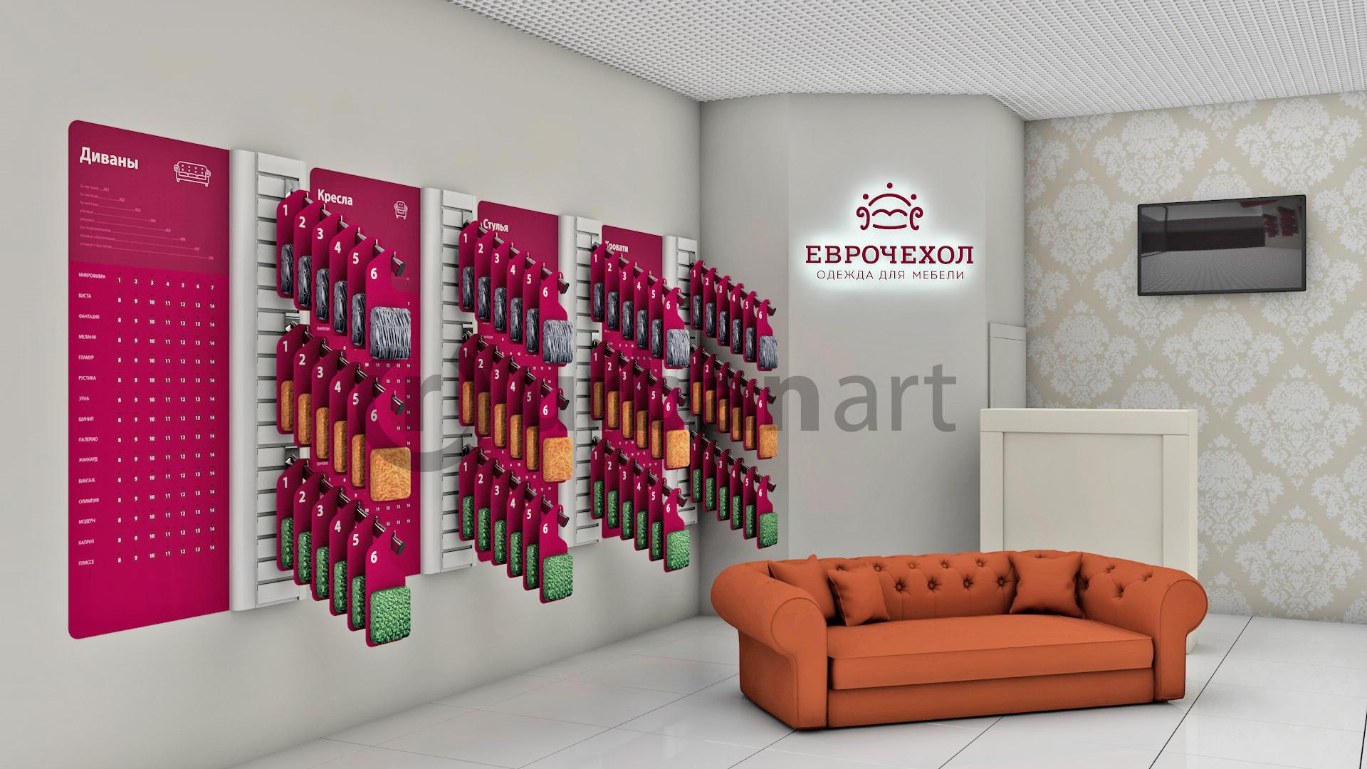 дизайн торговых помещений