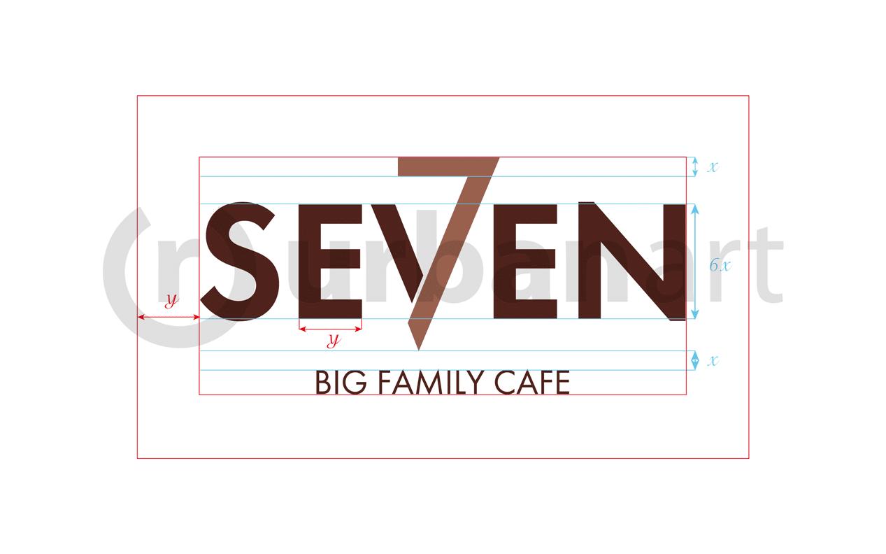 Брендирование ресторана Seven