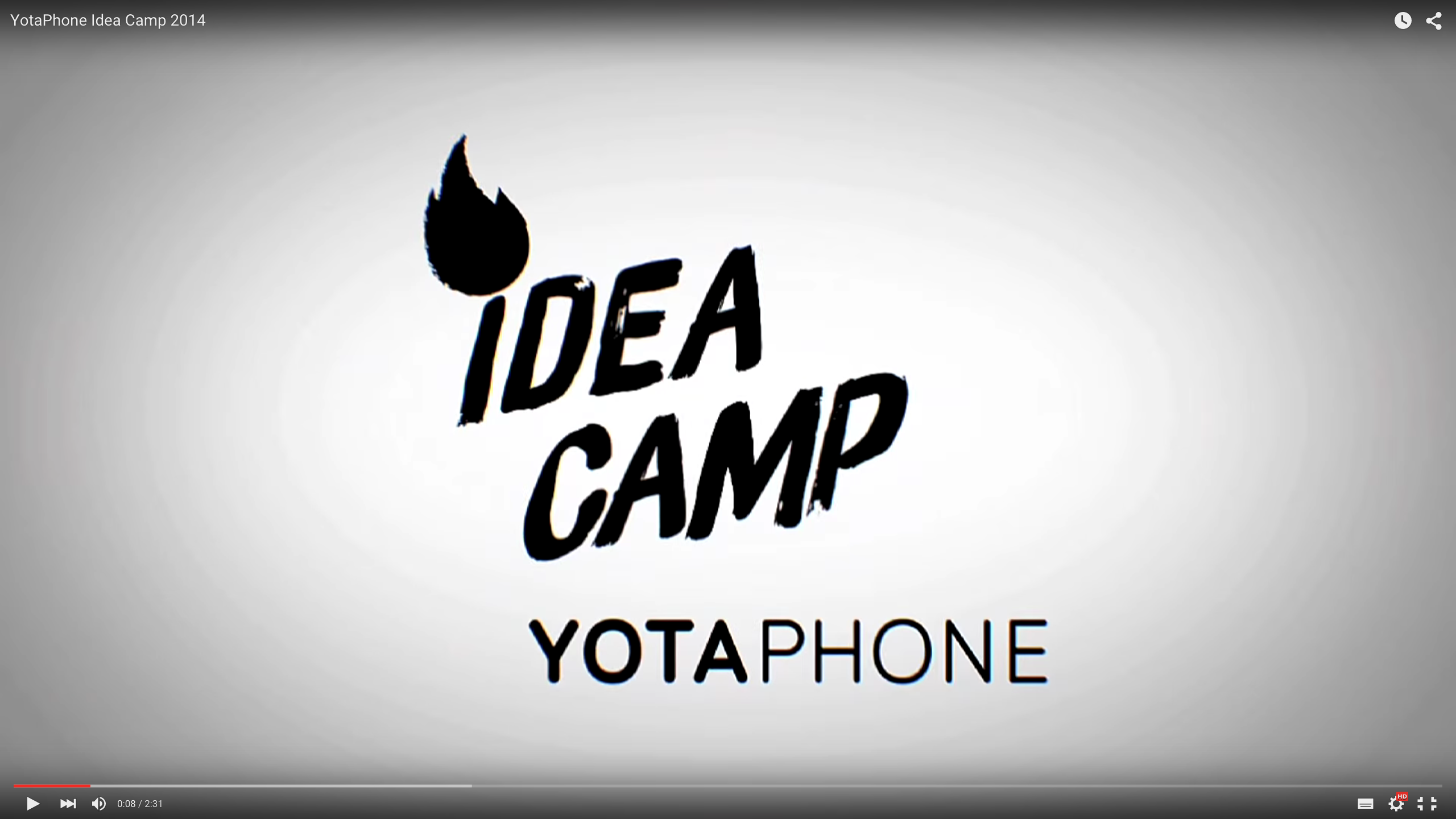 YotaPhone Idea Camp 2014