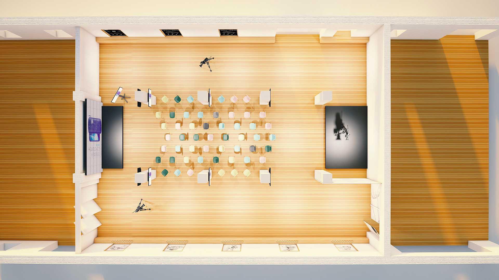 Подготовка 3D пространства под презентацию YotaPhone2