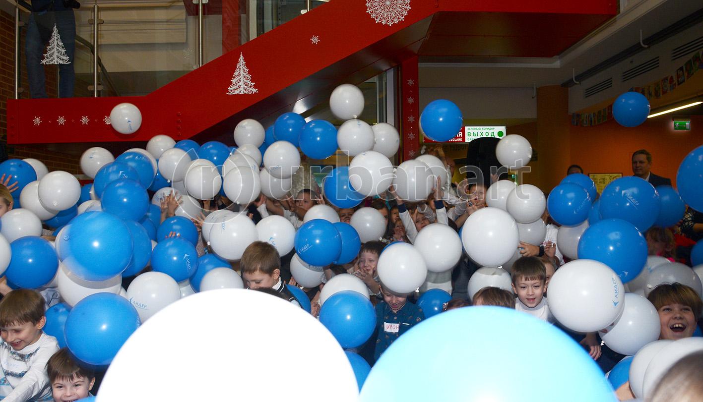 Детский Новый год для компании УК Лидер 2015