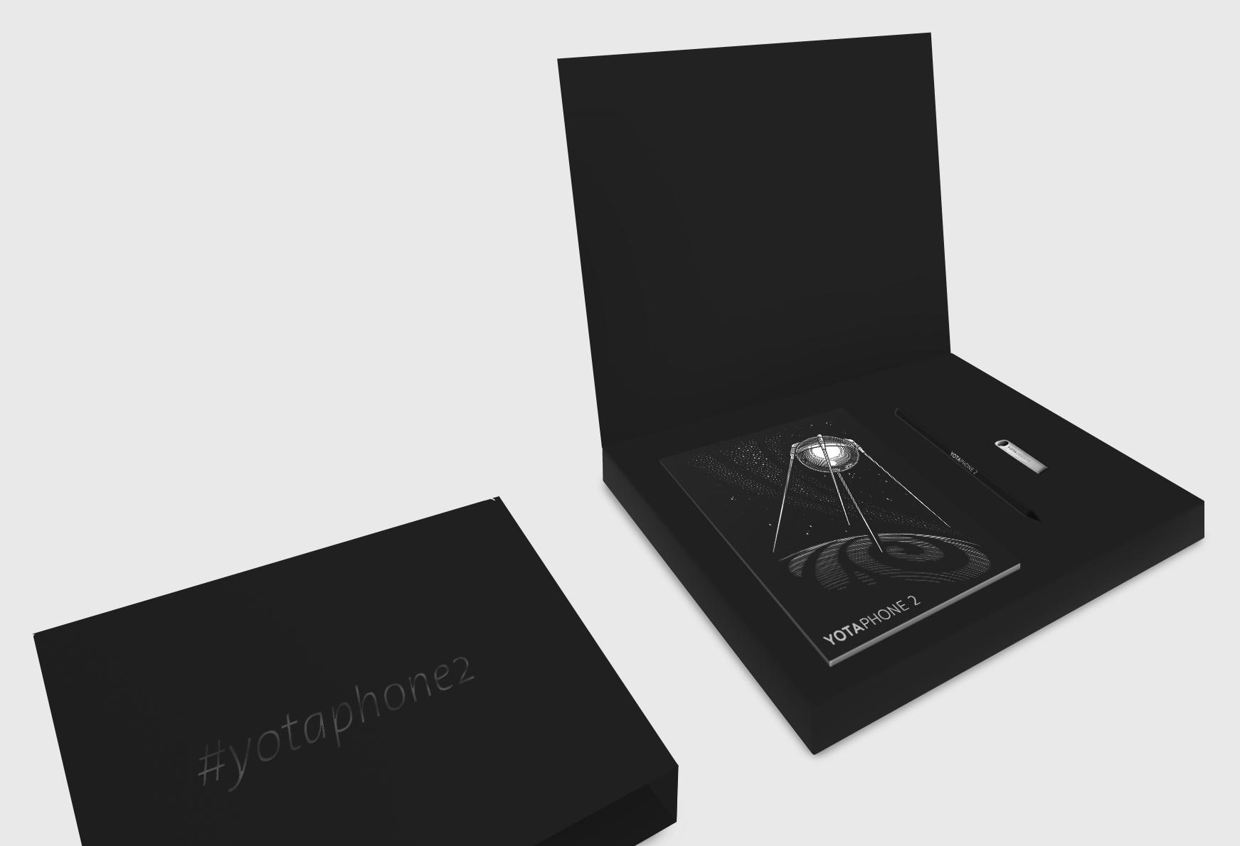 Изготовление полиграфии для презентации YotaPhone2