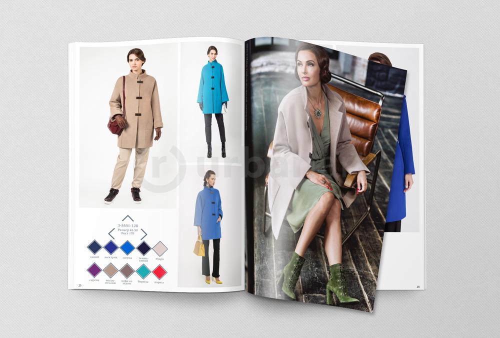 Дизайн каталога одежды